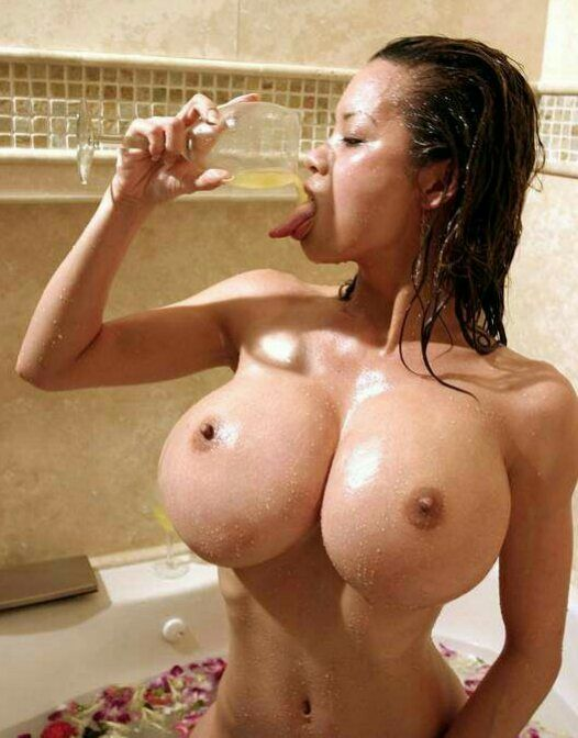 Asian Honey take a bath
