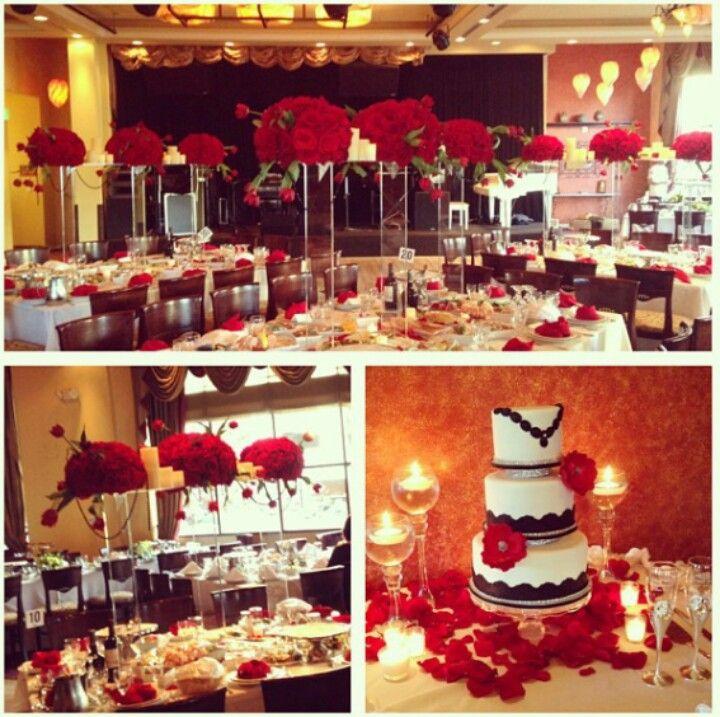 17 mejores im genes sobre boda blanco y rojo en pinterest - Decoracion blanco negro rojo ...