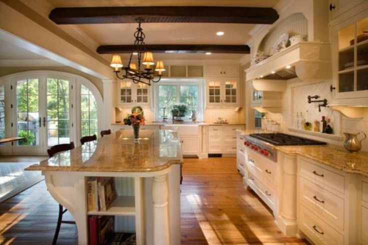Stunning 100 Brilliant Traditional Style Kitchen Ideas https://cooarchitecture.com/2017/07/01/100-brilliant-traditional-style-kitchen-ideas/