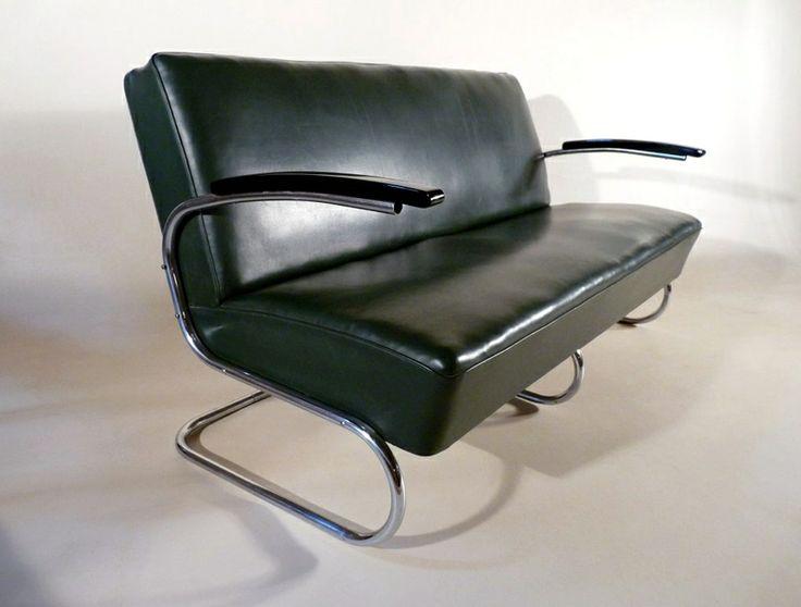 50er jahre sofa mit klappfunktion bauhaus and functionalism for Sofa 50er jahre stil