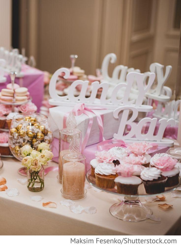 Candy Bar Hochzeitsbuffet für russische Hochzeiten