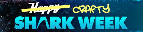 Dollar Store Crafts » Blog Archive » Paint Your Nails for Shark Week