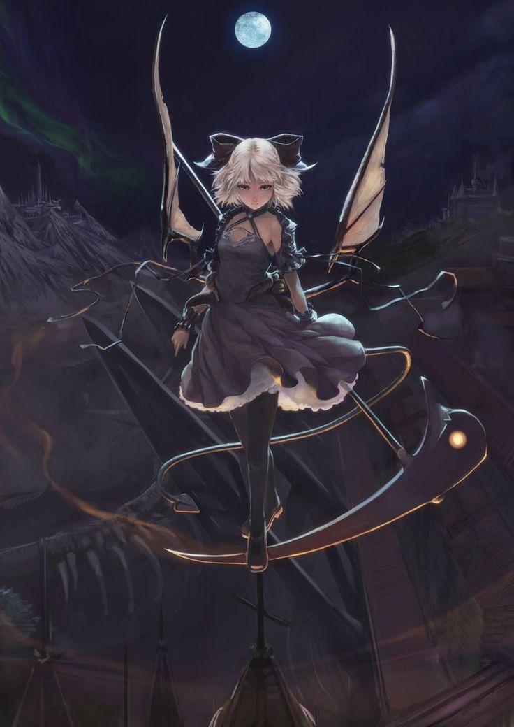 anime angel girl with scythe - Google Search