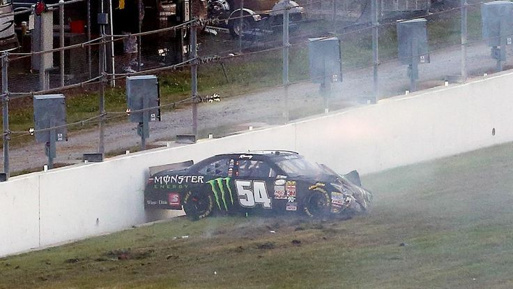 Daytona, NASCAR take responsibility for Kyle Busch injury, vow to fix walls