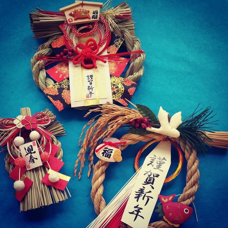 Paper Connection International Loving these shimekazari