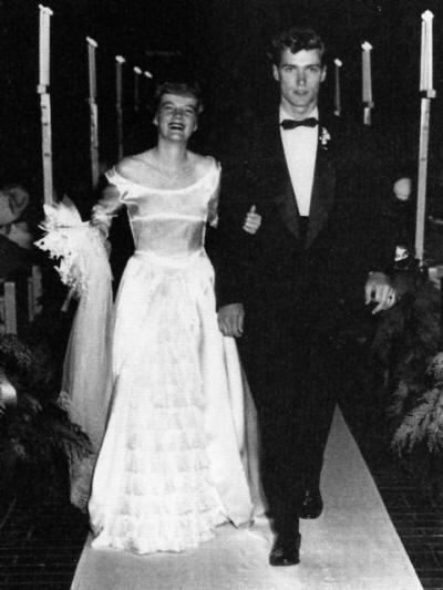 Margaret Neville Johnson & Clint Eastwood married in December 1953.