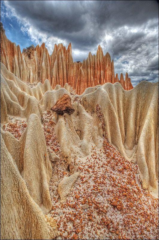Tsingy, Madagascar, Bemaraha National Park, UNESCO World Heritage Site.