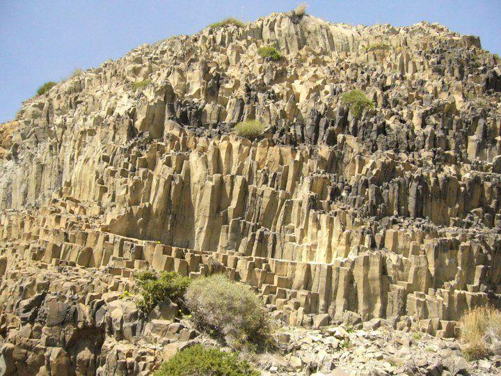 Formaciones de Basalto en Cabo de Gata Almeria