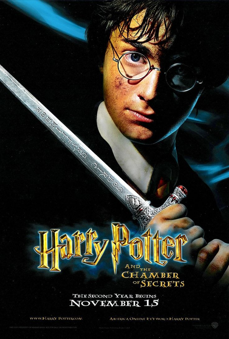 Harry Potter and the Chamber of Secrets (#10 of 14): Extra Large Movie Poster Image - IMP Awards