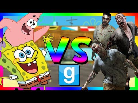 SPONGEBOB VS ZOMBIES | Gmod Sandbox (Funny Moments) - http://positivelifemagazine.com/spongebob-vs-zombies-gmod-sandbox-funny-moments/