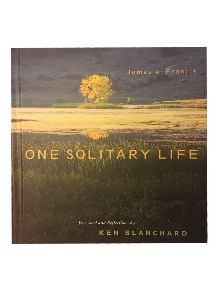 One Solitary Life by James A. Francis and Ken Blanchard (2005, Hardcover) New 1404101721 | eBay