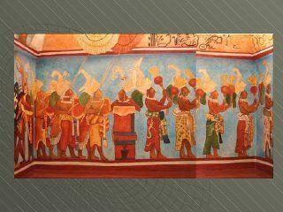Pinturas murales mayas   San Bartolo y Bonampak