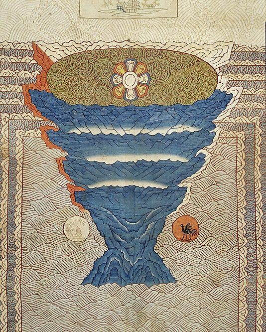 Cosmological Mandala with Mount Meru                                                                                                                                                      More