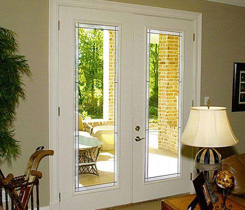 Western Reflections Decorative Patio Doors Vista Prairie