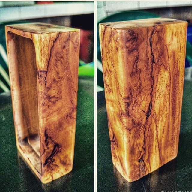 Found old teak wood.. #diy #boxmod #vapepornbuild #vaporwave #vape #hand_crafted #hand_made #cloud_chaser #unregulatedboxmod #vapenation