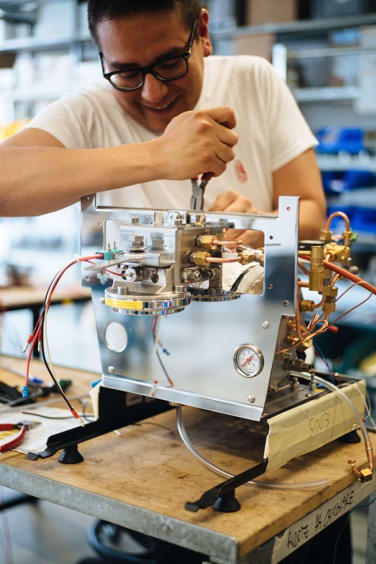 Adjusting the Linea Mini Espresso machine from La Marzocco