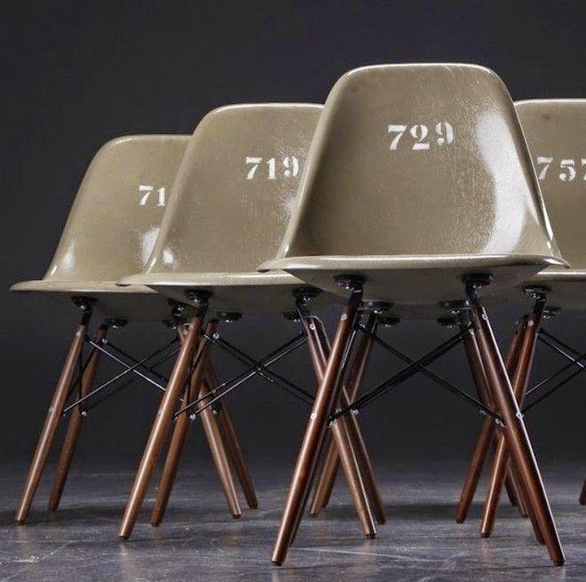 Military Design Chair