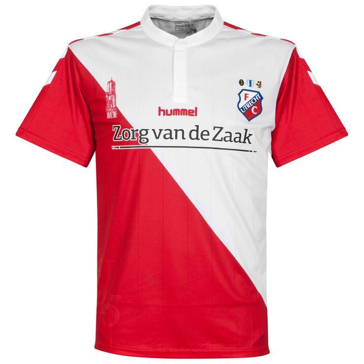 FC Utrecht (Netherlands) - 2015/2016 Hummel Home Shirt