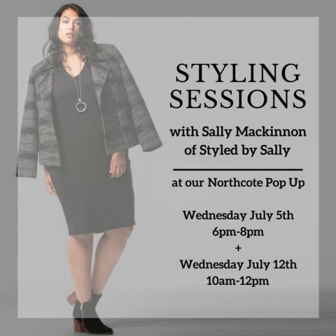 8 x 30 minute Styling sessions at our Northcote Pop-Up are up for grab – Harlow