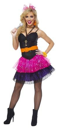 (Limited Supply) Click Image Above: Sexy 80's Pop Star Costume - Rock Star Costumes