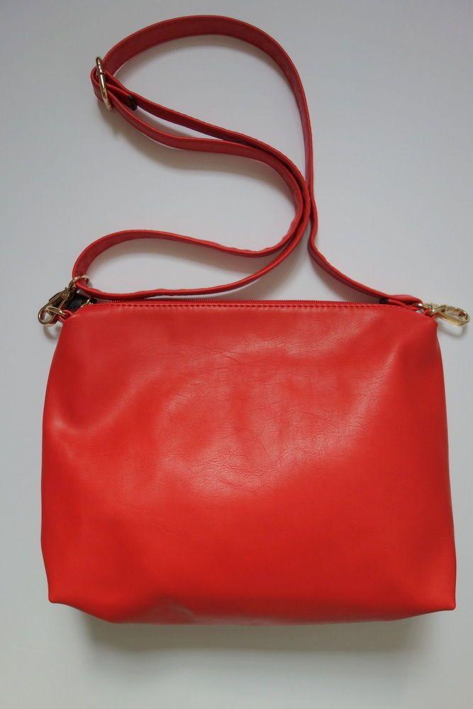Red Shoulder Bag 9 in x 12 in #Unbranded #ShoulderBag