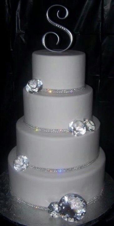 bling out wedding cakes 25 best ideas about all white on 11922