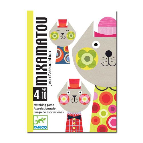 Djeco Playing cards Cards games - Mixamatou   TOYS.GR
