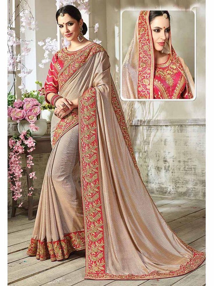 Indian Traditional Party wear Designer Dori Hand work Exclusive Asian Women sari #Handmade #SariSaree