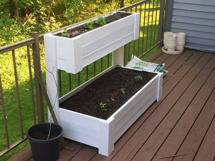 84 best Pallet Garden - tiered/pyramid images on Pinterest | Raised beds Yard ideas and ...