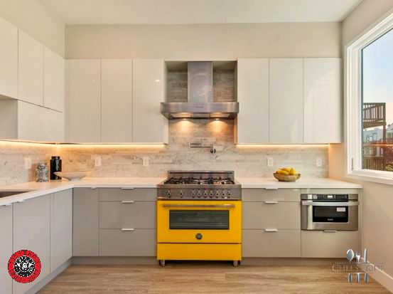 Beautiful #LamborghiniYellow #Bertazzoni #Professional stoves make a statement in ANY kitchen! Now in #SouthAfrica, thanks to Chef's Pride!