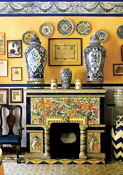 LA TALAVERA. [ MexicanConnexionForTile.com ] #design #Talavera #handmade
