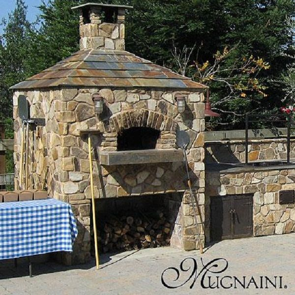 how to make a wood fired stone oven