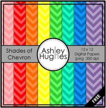 Shades of Chevron -For all you sweet chevron fans out there! :) If you download this freebie, then I'd love your feedback.