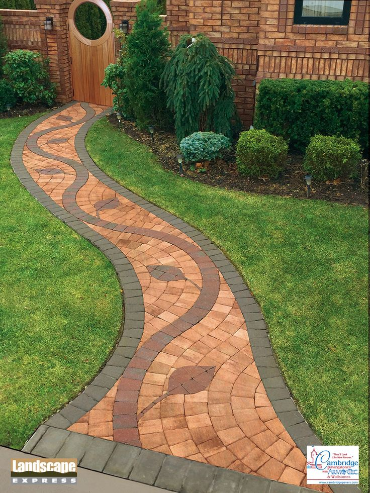 Design Ideas For Brick And Paving Stone Walkways   Landscape Express Woburn