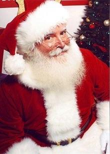 Santa Claus a wise old elf