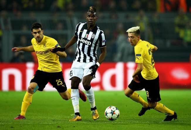 Borussia Dortmund vs Juventus FC - LUSA/CAROLINE SEIDEL