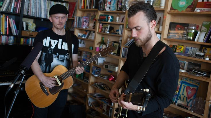The Icelandic singer's voice is angelic and yearning, his songs simple and universal. At the Tiny Desk, his raw, slowed-down arrangements bring a sense of grace to what were already elegant songs.