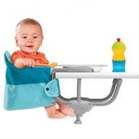 CHICCO Siège de table Easy Lunch Modèle 2012 bleu clair