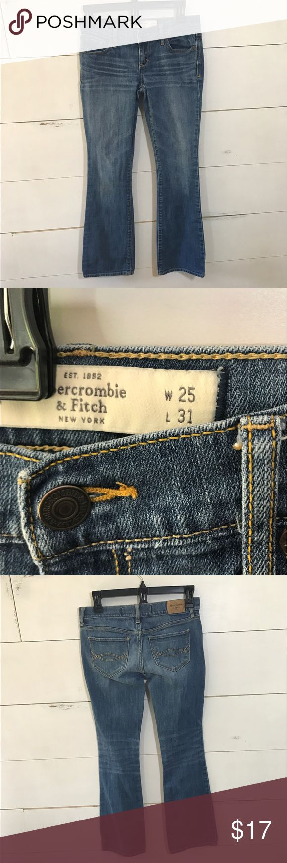 Abercrombie and Fitch Womens Jeans Sz w 25/L 31 Abercrombie and Fitch Womens Jeans Sz w 25/L 31 Abercrombie & Fitch Jeans Boot Cut