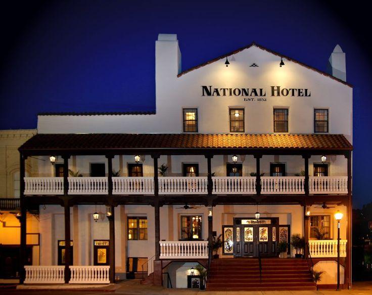 California Amador County Jackson National Hotel