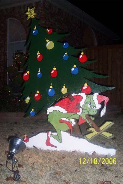 Grinch Christmas Yard Art Patterns | Stuff - Jason Boone