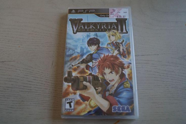 Valkyria Chronicles II * New * (Sony PSP, 2010) * Free Shipping * 10086660319 | eBay