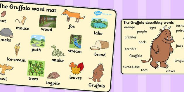 Twinkl Resources The Gruffalo Mat Images Thousands Of