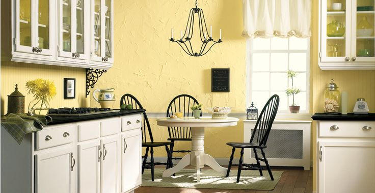 25 B Sta Yellow Kitchen Paint Id Erna P Pinterest Farba