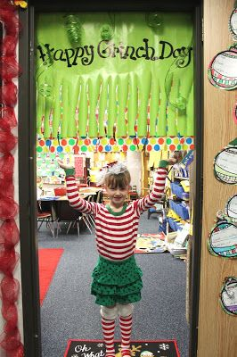 First Grade Wow: Grinch Day 2015!!