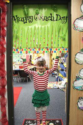 First Grade Wow: Grinch Day 2015!!