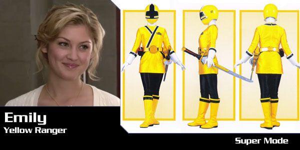 Emily (Yellow Samurai Ranger) - Power Rangers Samurai | Power Rangers Central