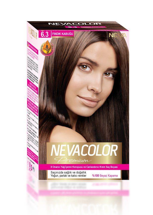 Nevacolor Premium Sac Boyasi 6 3 Findik Kabugu Sac Boyasi Sac