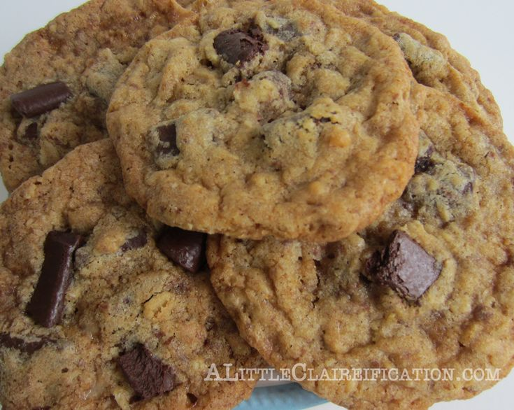 The Best Toffee Chocolate Chunk Cookies {Ever} by ...
