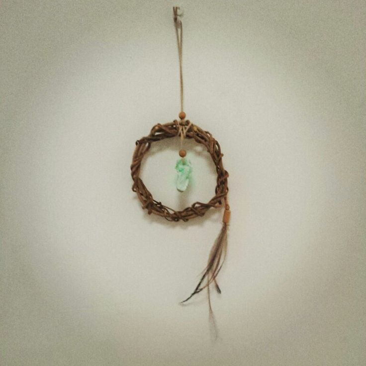 Sulawesi Opalite Indonesia cruelryfree emu feathers and Ivy. Natural positive energy Dream Weaver.